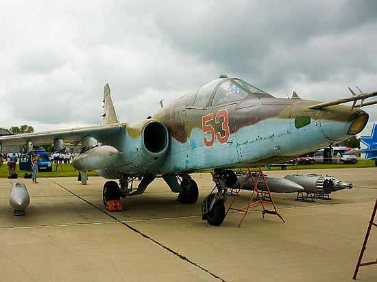 Крушение Су-25 на Украине: их ВВС в бедственном состоянии