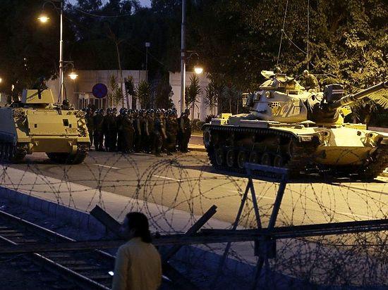 Переворот в Турции: онлайн