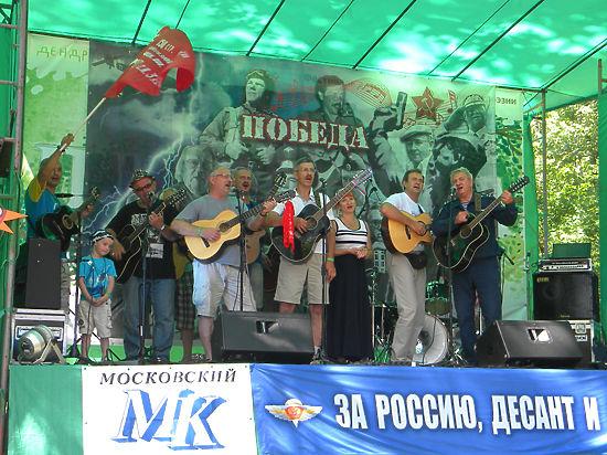 Союз десантников России и «МК» продолжают песенный фестиваль