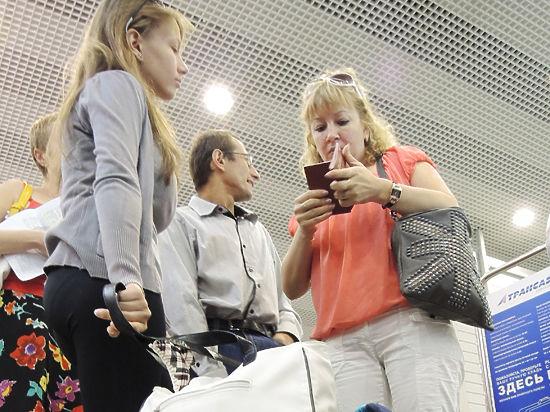 Туристы застряли в аэропортах Москвы в ожидании рейсов в Турцию