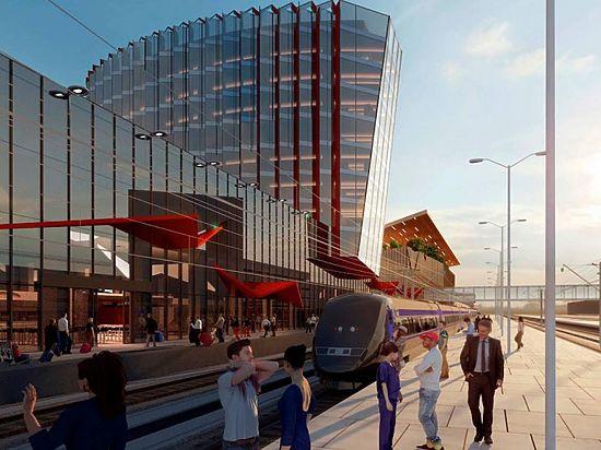 Космический вокзал для поездов появится в Нижнем Новгороде