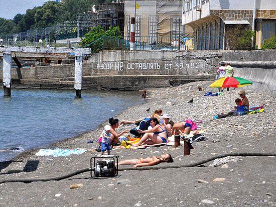В этом году многие петербуржцы выбрали местом отдыха российское Черноморское побережье