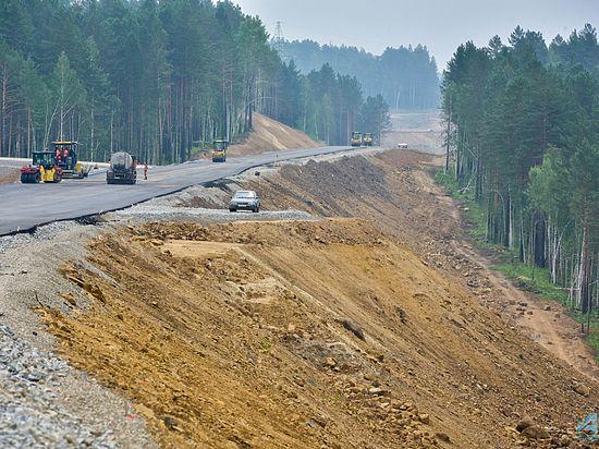 Реконструкция Байкальского тракта приближается к 21 км