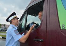 Каждому водителю вручили по карманному календарику с символикой акции и по стикеру «Добрый водитель»
