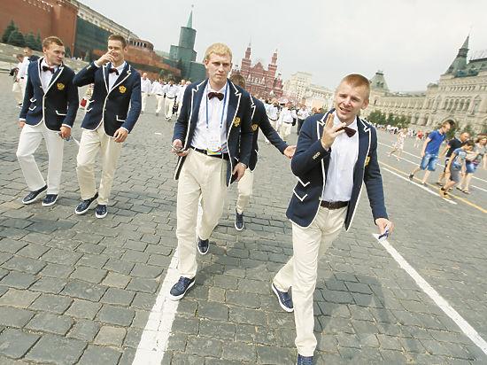 «Мы из России, здрасьте...»
