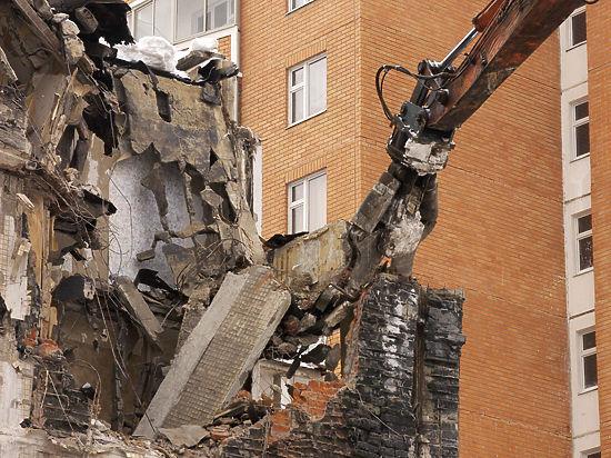 В столице хотят упростить порядок расселения старых домов