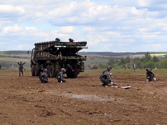 Военные из России организовали кулинарный поединок и «Формулу-1»