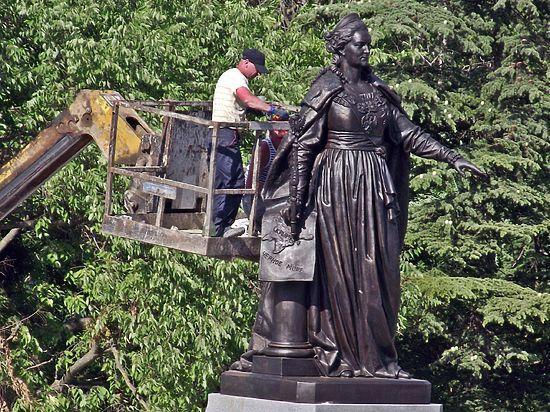 Екатерина II в Крыму: от царя до Путина