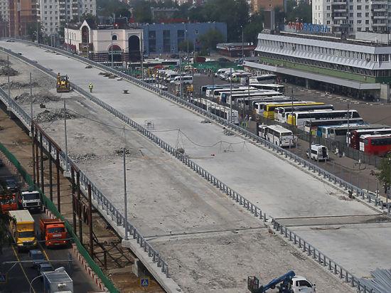 Щелковскую магистраль сдвинули с места
