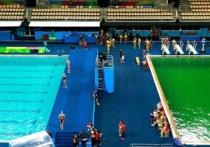 Оргкомитет Олимпийских игр в Рио-де-Жанейро назвал причину позеленения воды в бассейне для прыжков