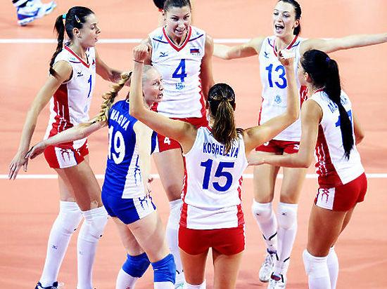 Женская сборная России по волейболу победила Японию: онлайн-трансляция