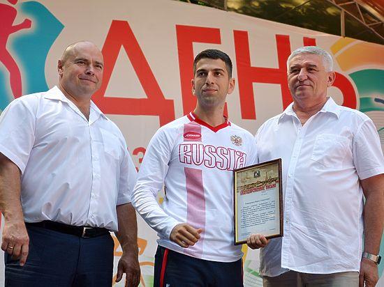 В Ставрополе День физкультурника провели на ура