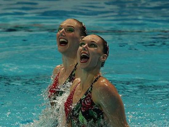 Наталья Ищенко и Светлана Ромашина — снова лучшие в олимпийском синхронном плавании