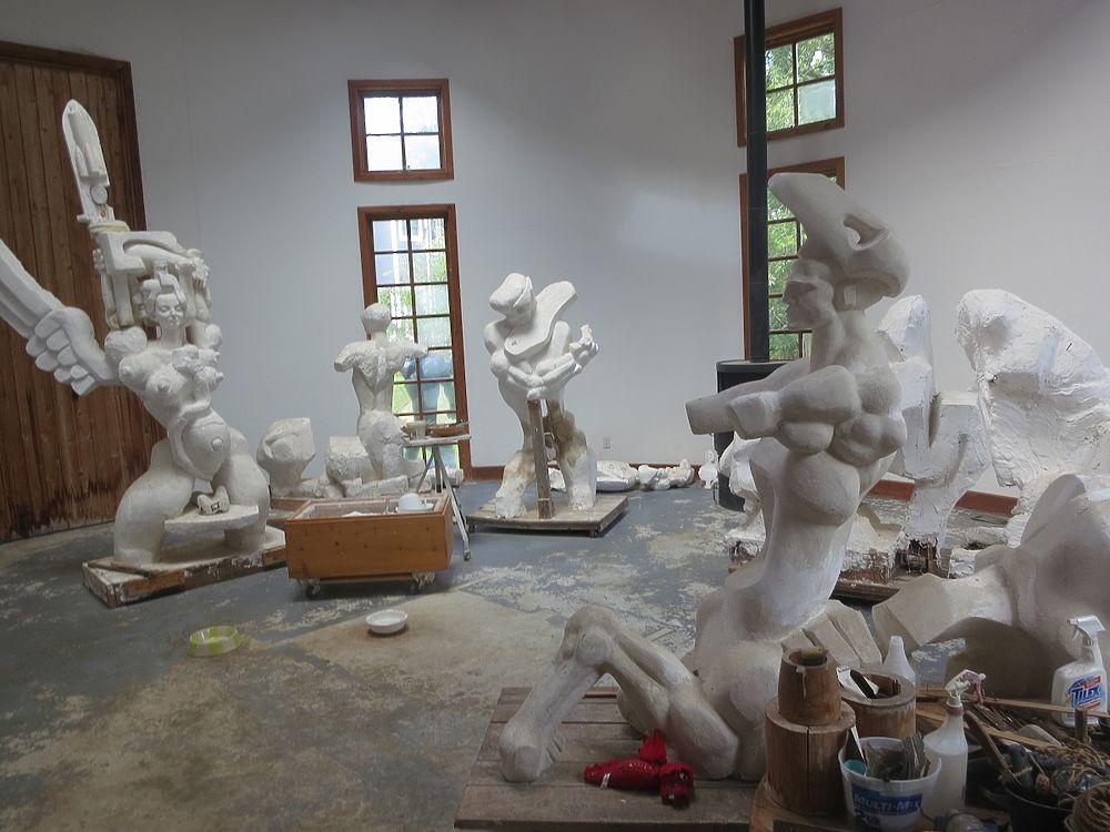 В США простились со скульптором Эрнстом Неизвестным