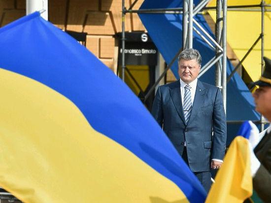 Порошенко: поднять флаг в Крыму и Донбассе будет чрезвычайно сложно
