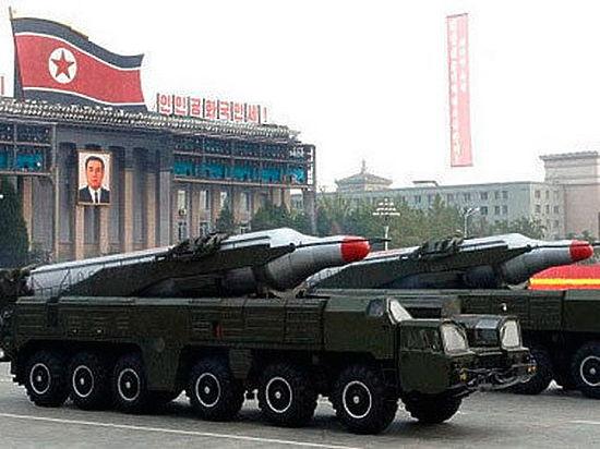 Северная Корея запустила баллистическую ракету в Японское море