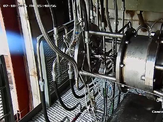 В России впервые успешно испытан экологически чистый ракетный двигатель