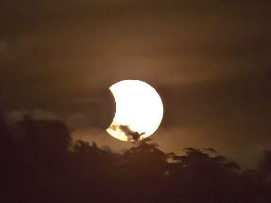 В сентябре москвичи увидят лунное затмение