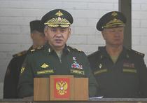 """Шойгу принял курсантов в """"семью, которая называется армия России"""""""