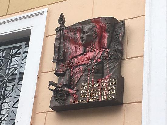 Почему Маннергейму не место в Петербурге