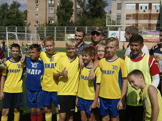 На Дону впервые прошел фестиваль Детской дворовой футбольной лиги