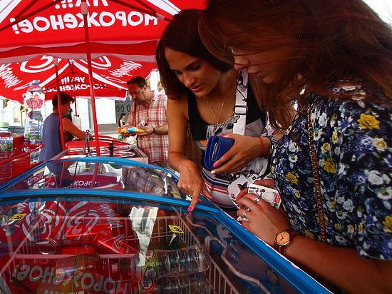 В Москве начали расти цены на мороженое