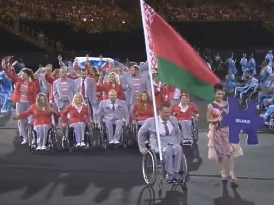 Второго представителя сборной Белоруссии отстранили от Паралимпиады после скандала с флагом
