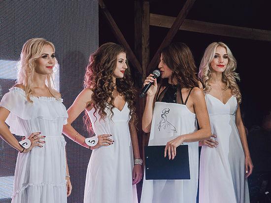 На крыше шампанерии «Золотой Балки» выбрали самых красивых девушек Севастополя