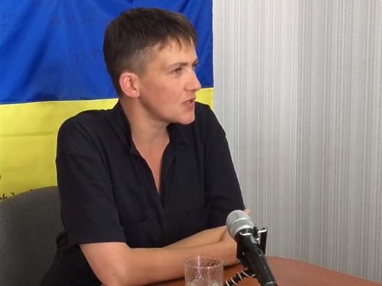 Савченко рассказала детям, почему не хочет становиться матерью