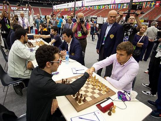 Каспаров помог США обыграть Россию в шахматы на Олимпиаде