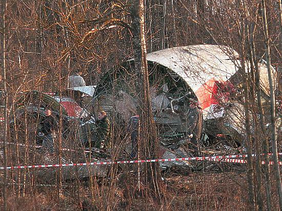 Польша обнародовала секретные данные о крушении самолета Качиньского