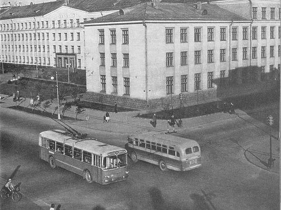 Как в Карелии появился общественный транспорт. Часть третья: троллейбусы