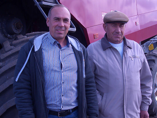 У фермера из Бредов урожай зерна вдвое выше, чем средний по региону