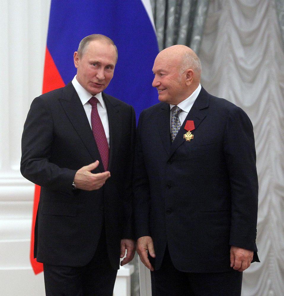 Путин в Кремле вручил госнаграды выдающимся россиянам