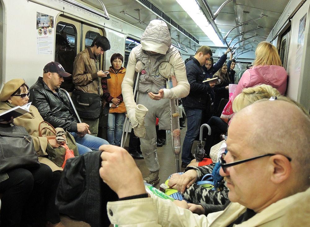 «Человек-мумия» из московского метро раскрыл все свои тайны