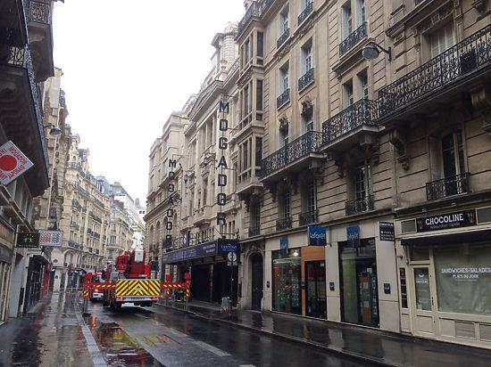 Пожар в парижском театре «Могадор»