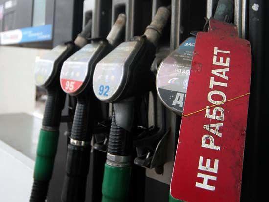 Акциз на бензин привяжут к курсу доллара