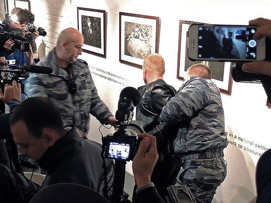 Вину за акцию против выставки Стерджеса списали на блогера-провокатора