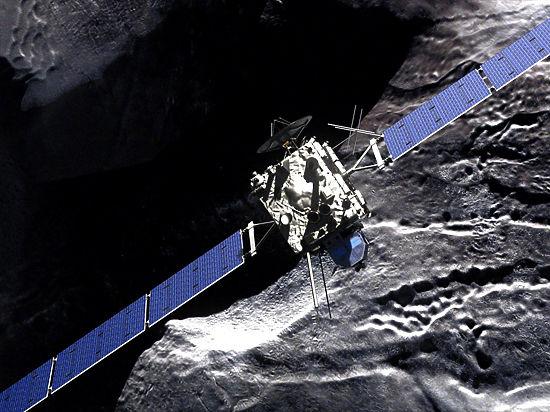 Зонд Rosetta столкнется с кометой Чурюмова-Герасименко в прямом эфире