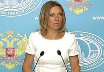 Захарова считает, что лучший подарок террористам могут преподнести США