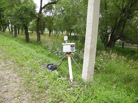 Видеокамера в Орле зафиксировала сверхзвуковую скорость автомобиля в 1418 км/час