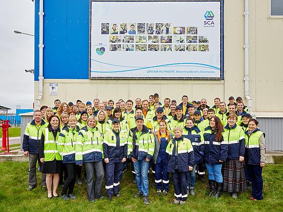 Сотрудники компании SCA в России, где расположены три фабрики компании примут участие в глобальной неделе безопасности, чтобы поддержать принцип «Безопасность прежде всего»