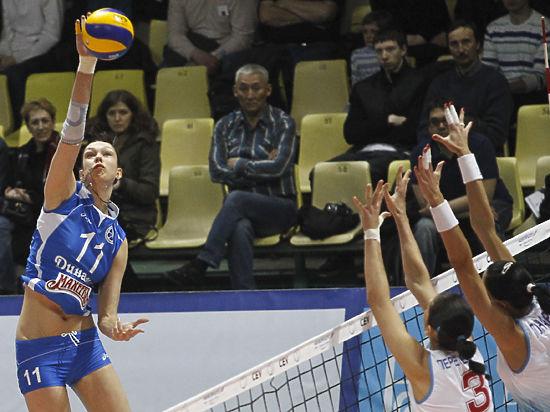 Королеву российского волейбола Гамову проводили с аншлагом