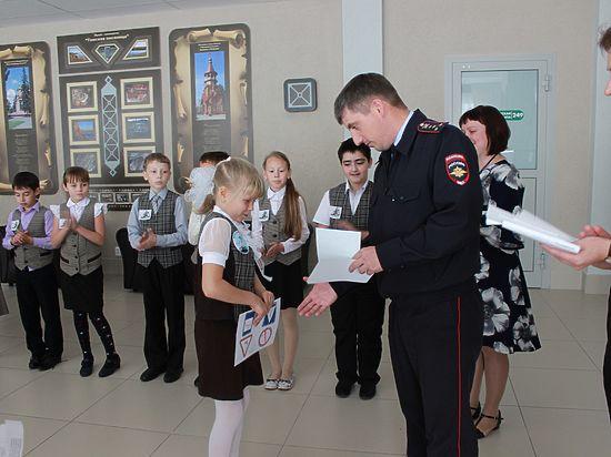 Кемеровские школьники преодолели «Дорожный лабиринт»