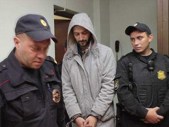 Обвиняемый Антон Усков в суде не проронил практически ни слова
