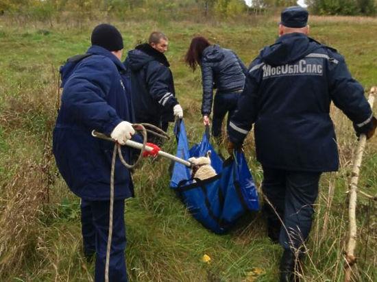 Подмосковные спасатели пришли на помощь слепой собаке, тонущей в реке