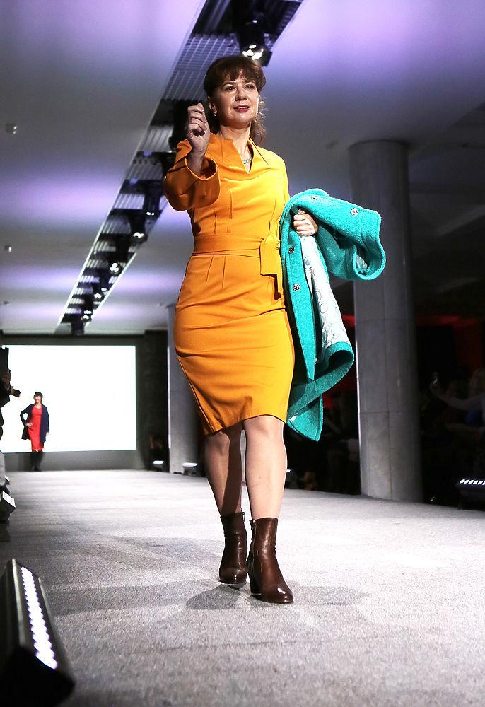 В Москве прошел показ мод для женщин зрелого возраста