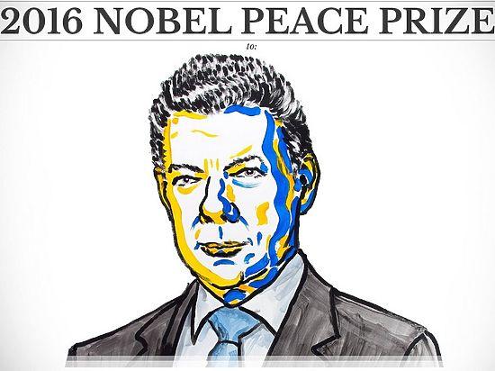Нобелевская премия мира досталась президенту Колумбии, а лидера повстанцев обошли