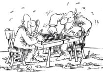 Шахматные выражения цугцванг, цейтнот, рокировка, ход конем и другие давно вошли в обиход
