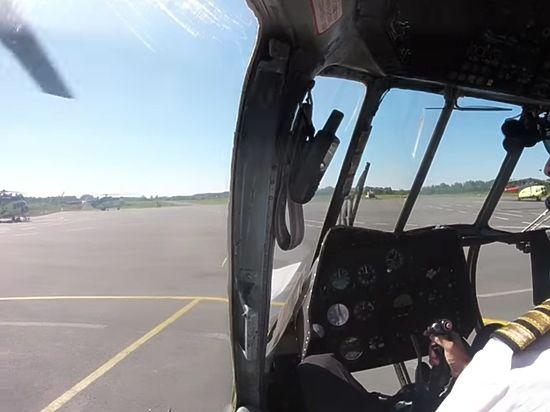 Благодаря маневрам вертолету удалось уйти из-под обстрела